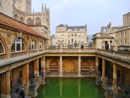 Here is a picture of the hot springs in Bath